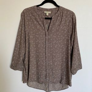 NWOT Dana Buchanan Blouse XL